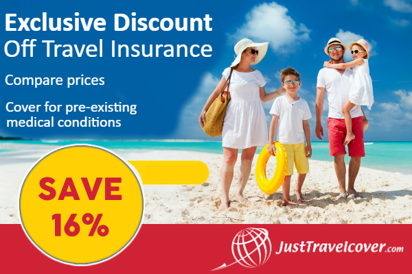 Just Travel Cover Offer 3346  page