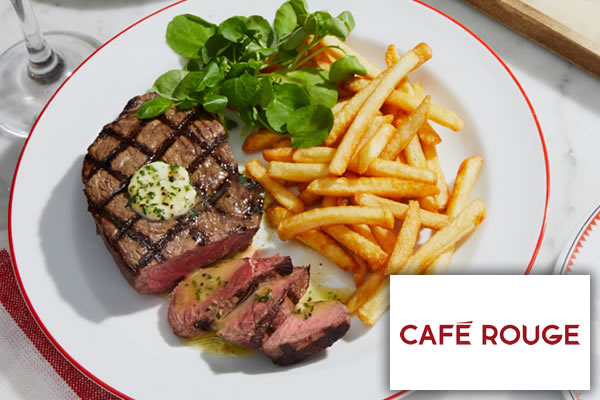 Cafe Rouge Offer 3145  page