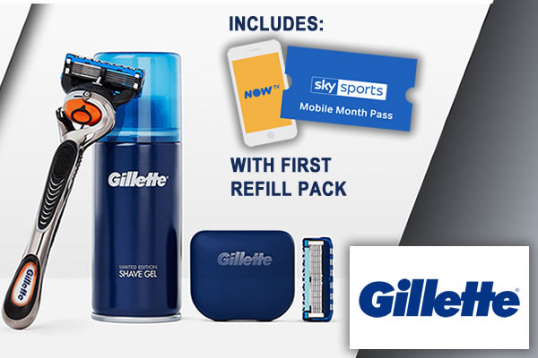 Gillette Offer 2954  page