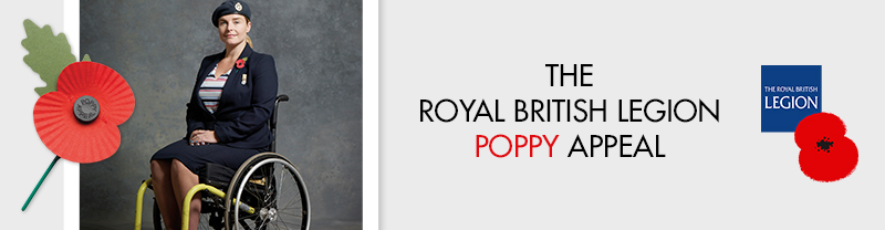 Banner image from The Royal British Legion
