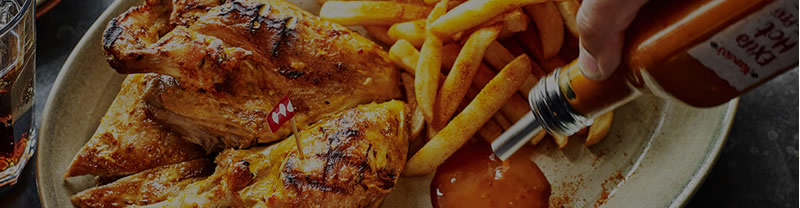 Banner image from Nando's