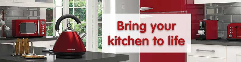 Banner image from Morphy Richards
