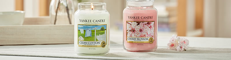 Banner image from Yankee Candle