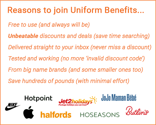 reasons to register for uniform benefits